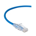 CAT6A UTP Slim-Net Patch Cable, 28AWG, 500-MHz, PVC